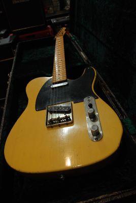 Guitare Electrique MAYBACH TELEMAN 54 BUTTERSCOTCH AGED