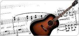 Guitare folk western